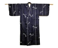 ladies' lined cotton kimono