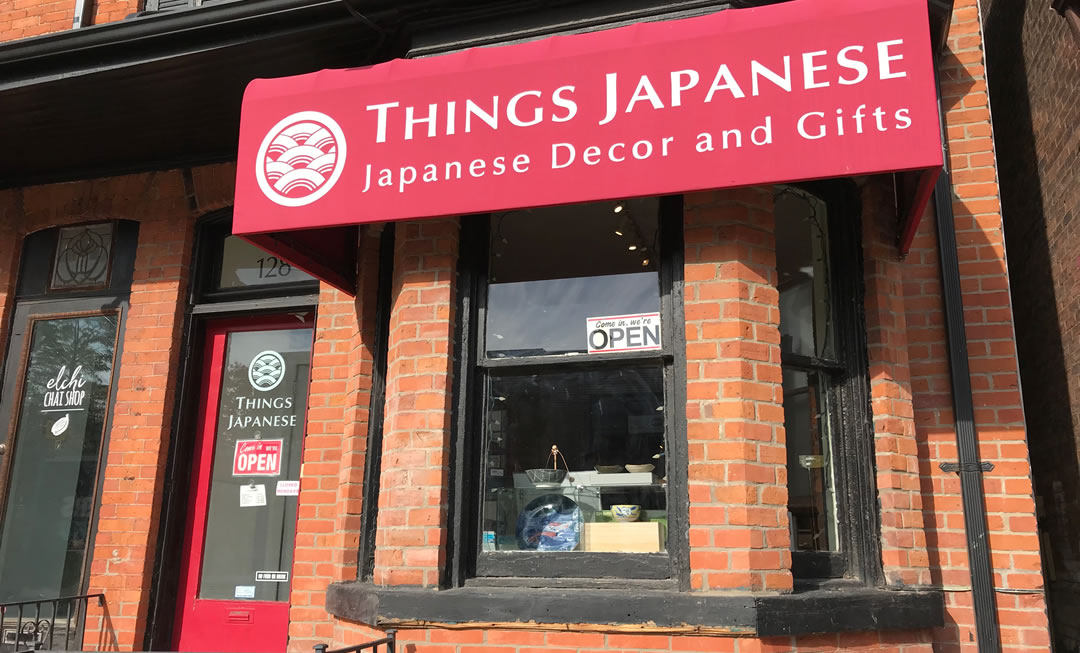 visit Things Japanese, Toronto for authentic decor and gifts